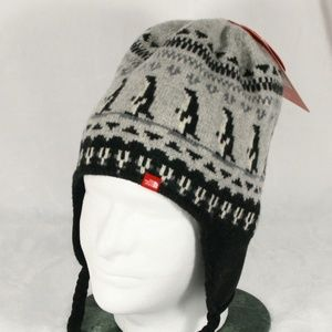 North Face Lambswool Winter Beanie Hat